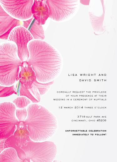 wedding invitations - Flowered by Love by Liz Johnson