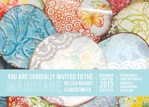 wedding invitations - Pattern Joy by Liz Johnson