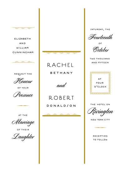 wedding invitations - A Love Story by Kimberly Canale