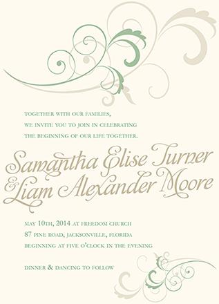 wedding invitations - Earthy Elegance by Stephanie Krist
