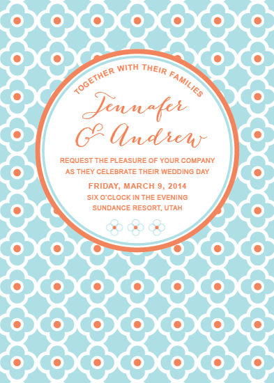 wedding invitations - It's Spot On by the dotted j