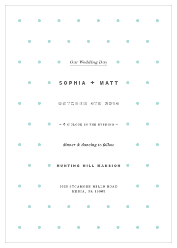 wedding invitations - Polka Press by Elysse Ricci