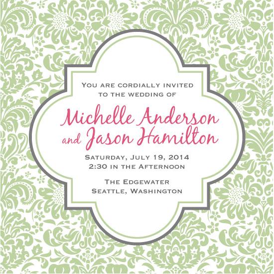 wedding invitations - Fancy That by Ann Hurley