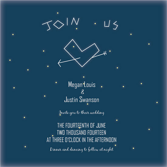 wedding invitations - Love Under the Stars at Minted.com