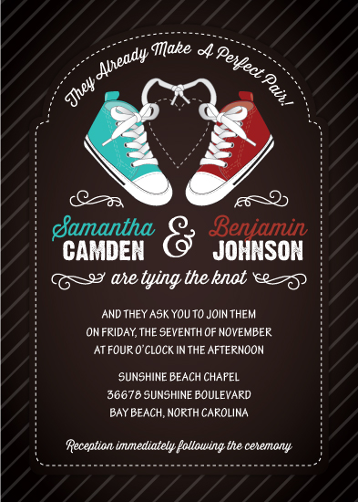 wedding invitations - The Perfect Pair by Little Bees Graphics