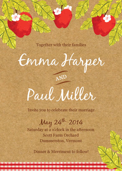 wedding invitations - Country Lovin' by Laura Knopp