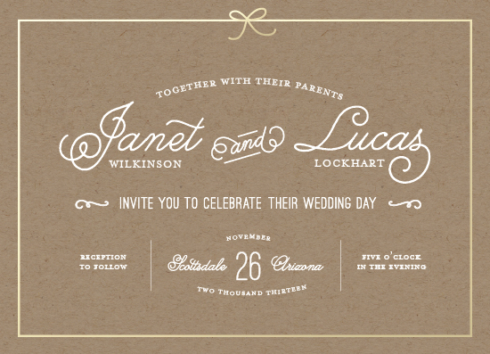 wedding invitations - Neatly Tied by Becca Thongkham