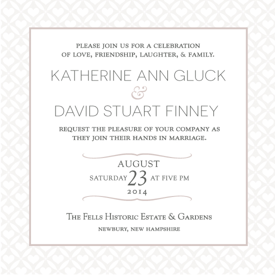 wedding invitations - Traditional Elegance by Jane W