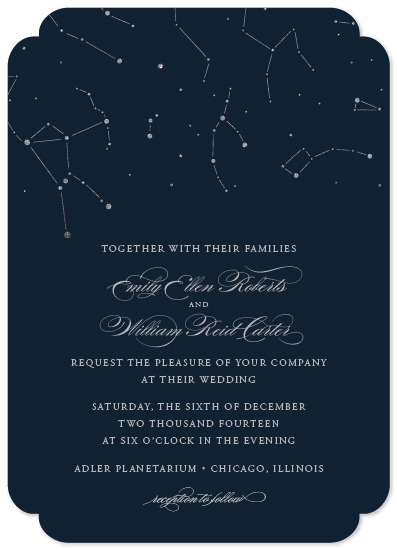 wedding invitations - Written In The Stars by Meredith Vance