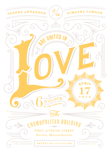 wedding invitations - pop supernova by chocomocacino