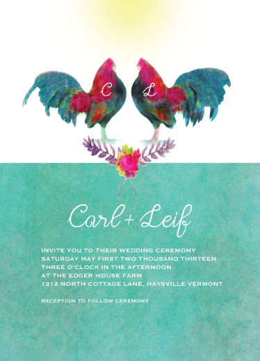 wedding invitations - Paired by hadley hutton