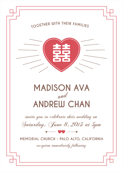 wedding invitations - 2 Happy by Snickrdoodle