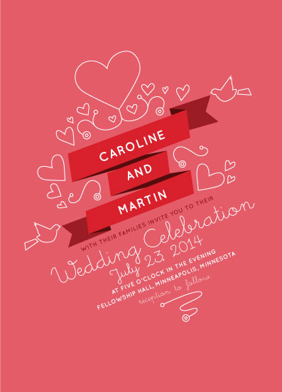 wedding invitations - Sweathears by Cary Smith