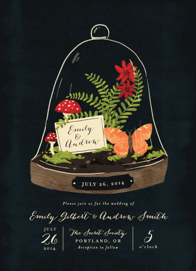 wedding invitations - Bell Jar by Pistols