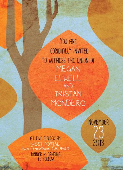 wedding invitations - fall in love by Robin Edano