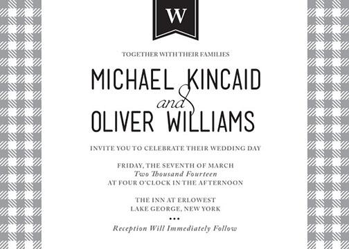 wedding invitations - English Charm by Corinna Beau Letterpress