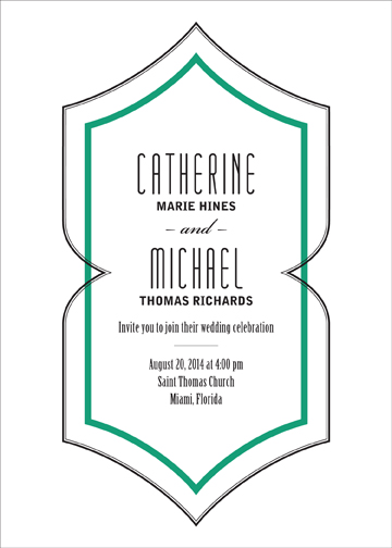 wedding invitations - Deco Divet by CD