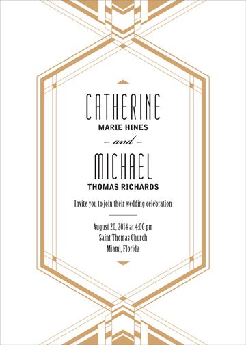 wedding invitations - Deco Diamond by CD