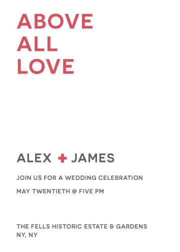 wedding invitations - Simple Elegance by Jane W