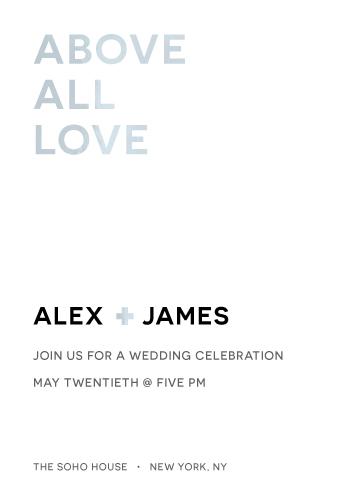 wedding invitations - Silver Elegance by Jane W
