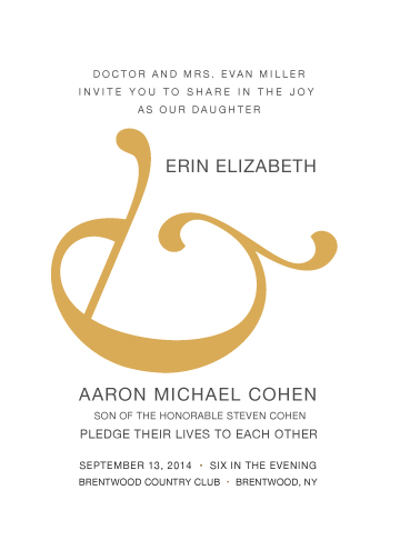 wedding invitations - And by Maggie Ziomek