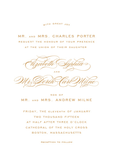 wedding invitations - Gracieux by Kimberly Morgan