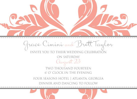 wedding invitations - LovelyUnion by Paper Parfait