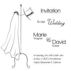 Wedding veil and cylinder