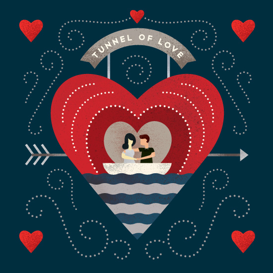 valentine's day - Tunnel of Love by Morgan Ramberg