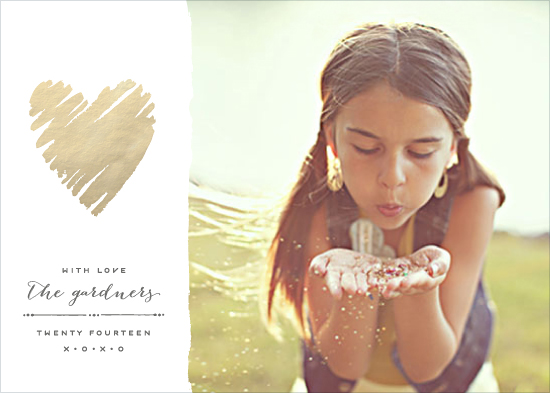 valentine's day - Heart of Gold by Hooray Creative
