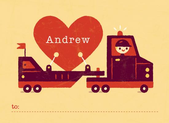 valentine's day - Big Heart Truckin' by Bob Daly