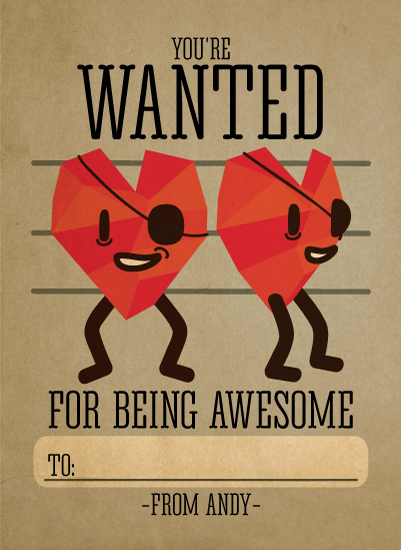 valentine's day - Wanted Heart Bandit by Robin Edano