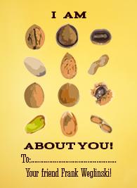 valentine's day - Nuts about You by Maria Weglinski