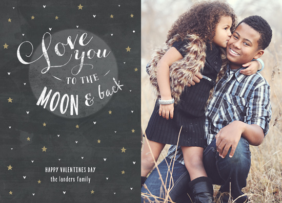 valentine's day - Love you to the moon and back by Chasity Smith