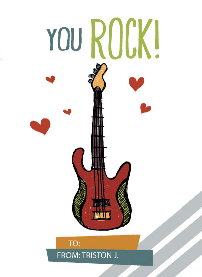 valentine's day - You Rock! by Tiffany Jenniges