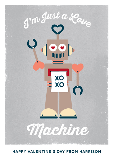 valentine's day - Love Machine by Erica Krystek