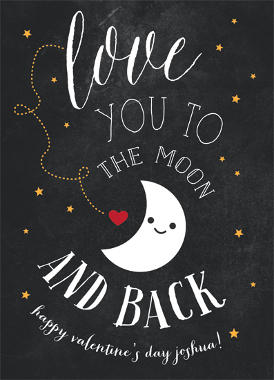 valentine's day - Moon Love by Chryssi Tsoupanarias