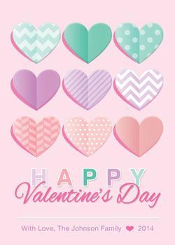 Valentine Pattern Hearts
