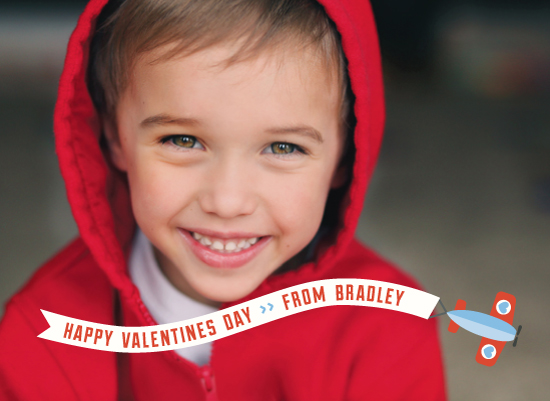 valentine's day - Biplane Banner by A Little Big Picture
