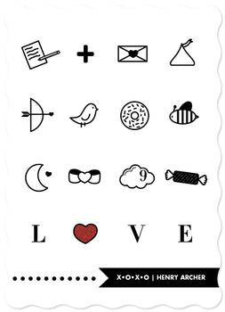modern love icons