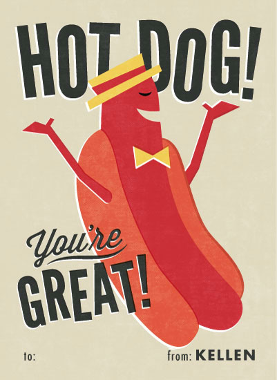 valentine's day - Hot Dog! by Jessie Steury