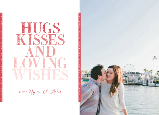valentine's day - Hugs, Kisses and Loving Wishes by Elysse Ricci