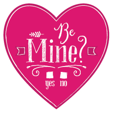 valentine's day - Be Mine? by Lisa Young