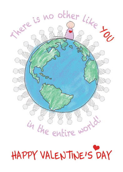 valentine's day - No Other Like You In The World by Giovanna Santoni