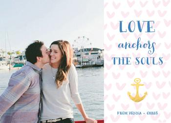 Love anchors the souls