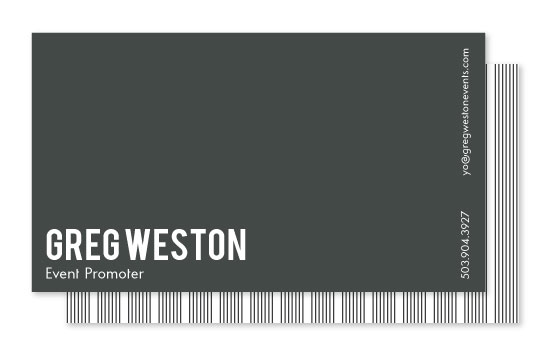 business cards - Just the Facts by Sarah Wrede