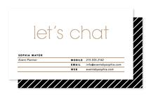 Let's Chat by Elysse Ricci
