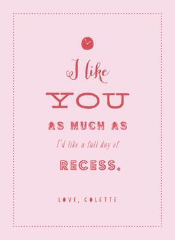 I Like Recess