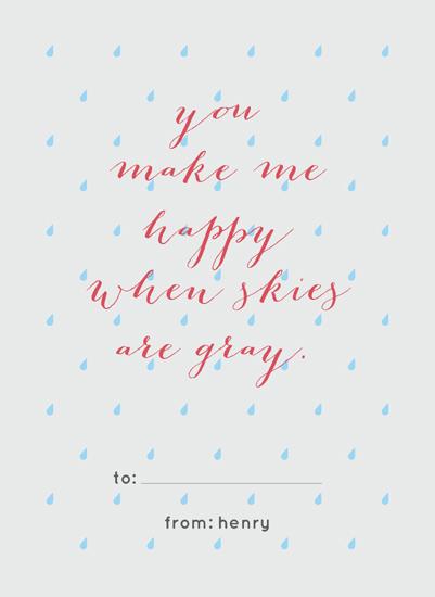 valentine's day - Happy Gray Skies by Elysse Ricci