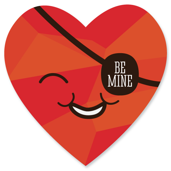 valentine's day - Be My Eye by Robin Edano